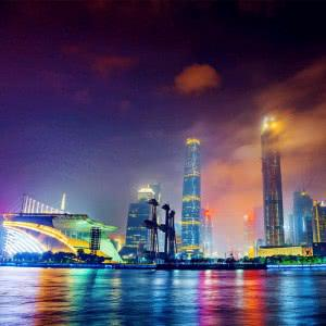 唯美香港城市风景图片头像