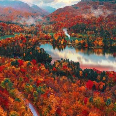 秋天的微信头像风景高清好看的图片头像唯美风景秋天