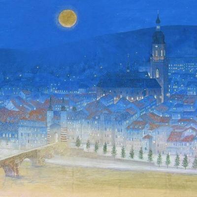 动漫风景建筑图片头像高清唯美的建筑动漫风景头像