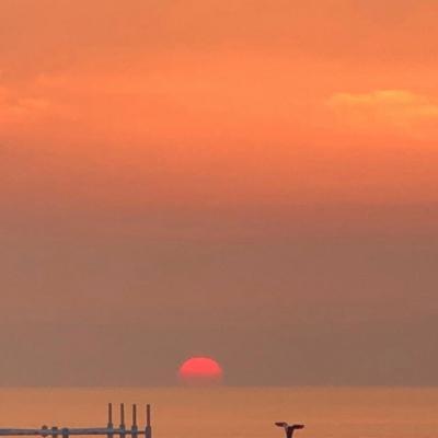 微信头像日落风景唯美有创意的微信头像风景日落高清图片