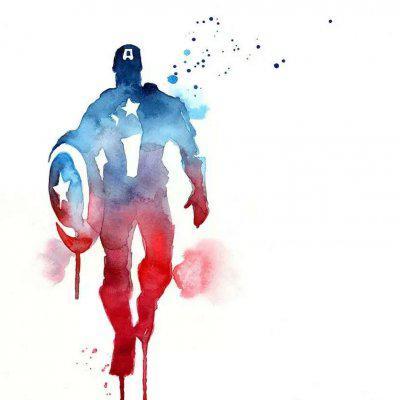 高清创意手绘复仇者联盟头像图片