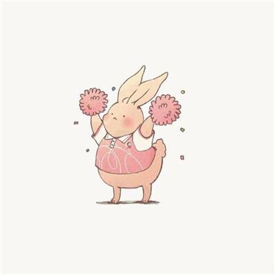 动漫兔子图片可爱头像,高清好看胖乎乎的兔子头像图片萌萌哒