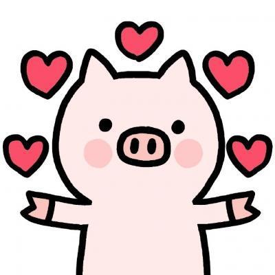动漫猪头像可爱图片,高清呆萌可爱的动漫猪头像高清图片精选