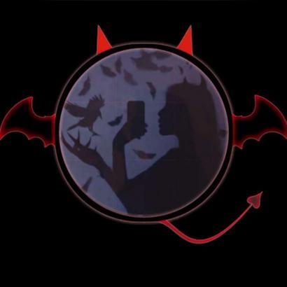 小恶魔动漫头像高清炫酷的动漫二次元小恶魔头像图片
