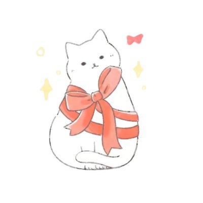 猫咪卡通动漫头像高清超萌的猫动漫头像可爱图片
