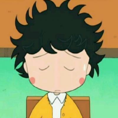樱桃小丸子发型图片头像高清可爱的呆萌小丸子新发型头像