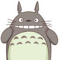 可爱龙猫头像可爱的龙猫图片qq呆萌头像图片
