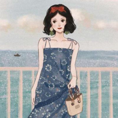 微信头像迪士尼公主手绘,高清好看的迪士尼公主手绘治愈头像图片