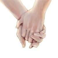 幸福的牵手情侣头像,牵着你的手一起走向爱情吧