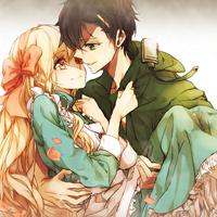 高清动漫情侣头像一对,亲爱的永远爱你,吻着你